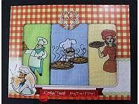 Полотенце кухонное вафельное Romeo Soft Chef 3 шт (40*60) 320020068