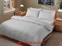 Постельное белье Romeo Soft  saten Stripes Beyaz полуторное 320020471