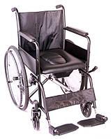 Коляска инвалидная с сантех оборудованием «ECONOMY 2» OSD (ИТАЛИЯ), фото 1