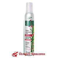 Bamboo Care + Style Пена для укладки волос Объем и укрепление c бамбуком сильной фиксации Витекс, 300 мл (3015624) 108112211