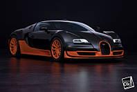 Постер глянцевый - Bugatti Veyron 16.4 Super Sport 2010, 90x60см