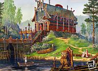 Постер глянцевый - Русская сказка, 83x60см