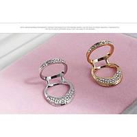 Открытые кольца - Серебро и золото