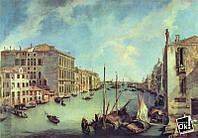 Постер глянцевый - Картина Большой канал (Канале Гранде) в Сан Вио, 87x60см