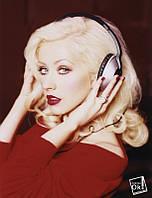 Постер глянцевый - Christina Aguilera / Кристина Агилера, 60x79см