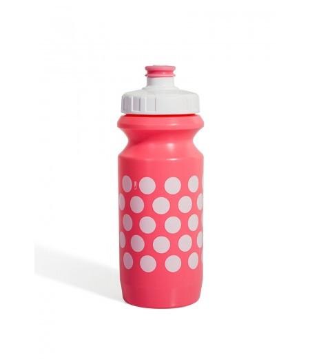 Фляга 600ml Green Cycle Polka Dot с Big Flow valve, LDPI light pink nipple/ white matt cap/light pink matt bot