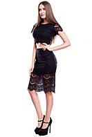 Женская юбка из гипюра