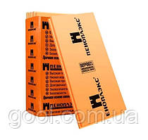 Пеноплэкс экструдированный пенополистирол 1185х585х100 мм упаковка 4 листа