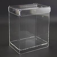 Урна для пожертвований 120x150x80 (Cash box). Объем 1,44 литров