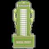 Наушники оригинальные универсальные, вакуумные, зеленые