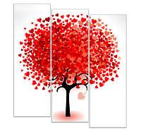 """Печать модульных картин """"Сердечное дерево"""""""