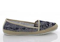 Черные Женские балетки, лодочки туфли , туфли, на плоской подошве от производителя  летние 41 р.
