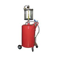 Установка для вакуумной откачки масла с мерной колбой  G.I.KRAFT B8010KV