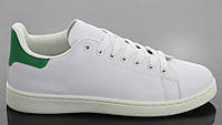 Спортивная женская обувь, кроссовки на шнурках белого цвета