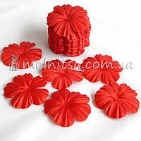 Заготовка для цветка мак, красный