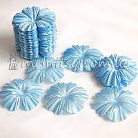 Заготовка для цветка мак, голубой