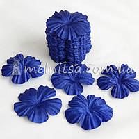 Заготовка для цветка мак, синий
