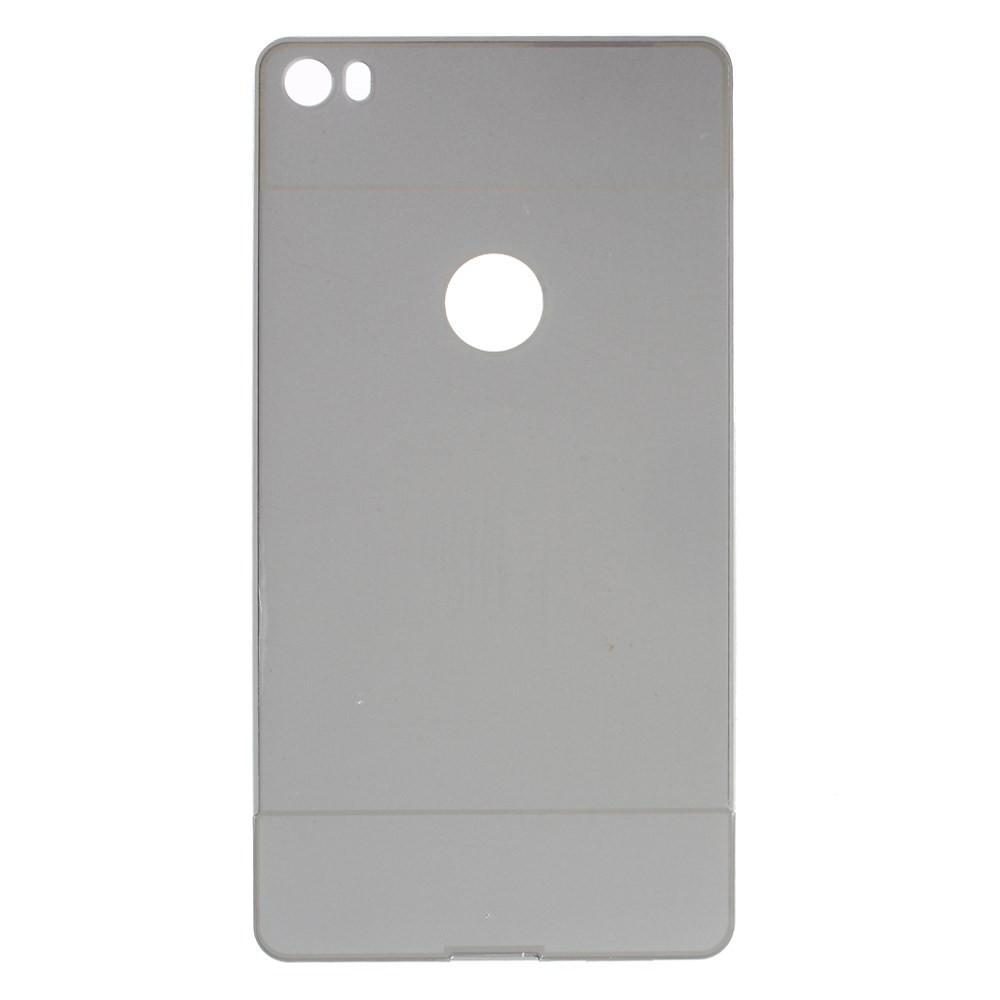 Чехол накладка бампер Mirro-like Huawei Ascend P8 Max серебро