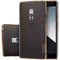 TPU чехол Nillkin для OnePlus 2 золотистый