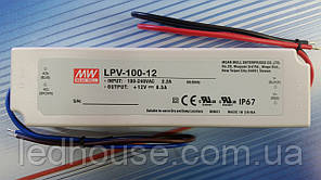 Блок питания Mean Well LPV-100-12,ip67 (Минвел)