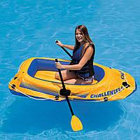 Лодка надувная Intex Challenger-1 68365