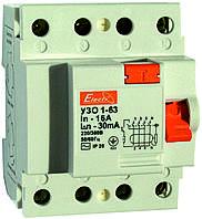 Устройство защитного отключения УЗО 1-63 4P 50А 100mA Electro
