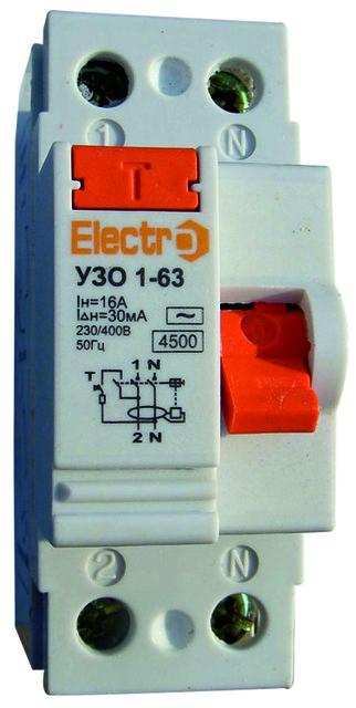 УЗО 1-63 — Electro™