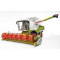 Игрушка Bruder Комбайн зерноуборочный Claas Lexion 780 Terra Trac с гусеничным приводом 1:16(02119) , фото 1