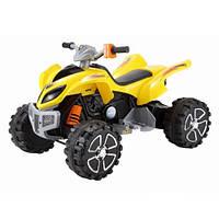 Электромобиль BT-BOC-0060 yellow квадроцикл, детская машина