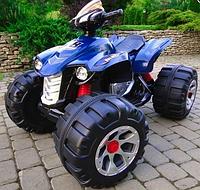 Электромобиль  BT-BOC-0040 BLUE квадроцикл, детская машина