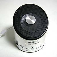 Портативная колонка WS-A9 мини (аккумулятор.USB;microSD)