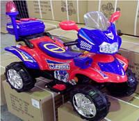 Электромобиль KB92068 RED-BLUE квадроцикл, детская машина