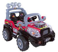 Электромобиль  YC186(ZP3399)-RED джип полиция , детская машина