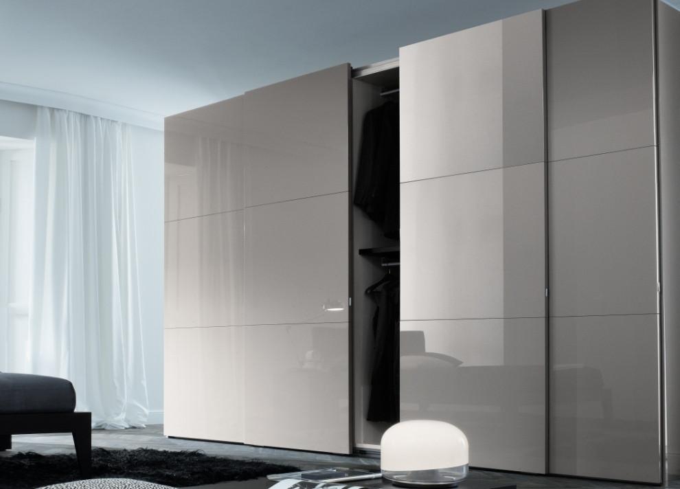 Шкаф купе на заказ Premium стекло Lacobel 1236 цена 59