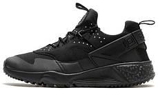 Мужские кроссовки Nike Air Huarache Utility Black 806807-002, Найк Аир Хуарачи, фото 2