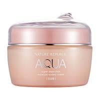 Увлажняющий крем-гель для сухой кожи Super aqua max moisture watery cream, фото 1