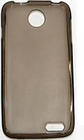 Накладка силиконовая для смартфона Lenovo A398T Dark Transparent