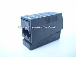 Клемма для подключения светильников WAGO 224-114 2х1,0-2.5 mm2 (Германия)