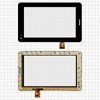 Сенсорный экран (touchscreen) для Megafon Login 2 MT3A, 30 pin, черный, оригинал
