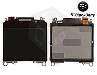 Дисплей (LCD, экран) для Blackberry 8350i, 8520, 8530, 9300, 9330, версия 009, оригинальный