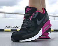 Nike Air Max 90 Gs Black/Purple