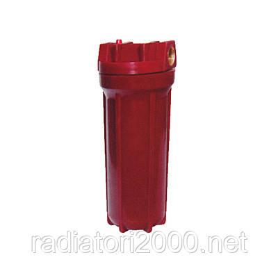 """Фильтр для воды колба 2Р HOT 10"""" 1/2"""" в комплекте картридж, ключ, крепление"""