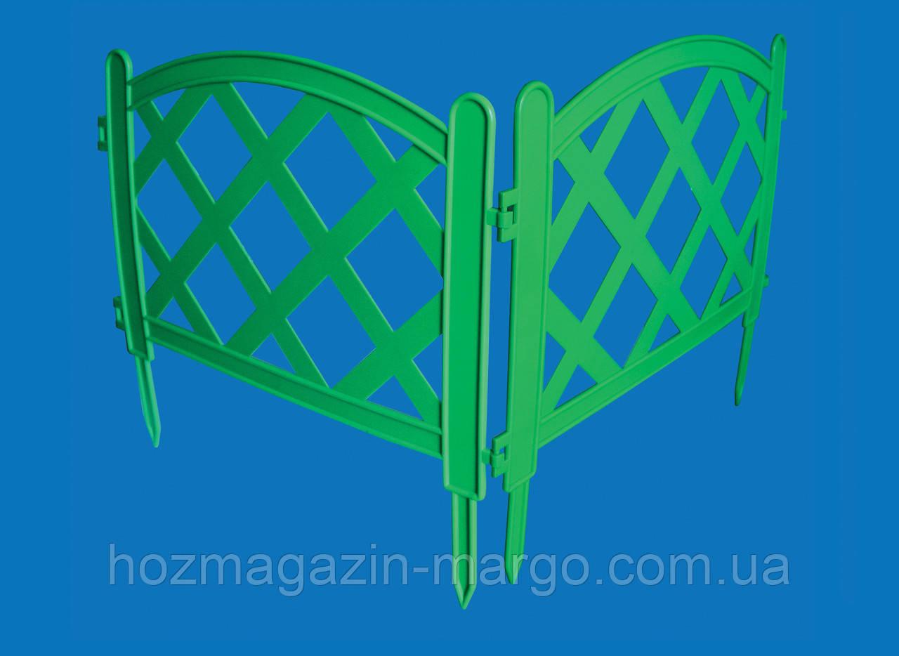 """Ограждение пластмассовое """"Плоская решетка"""" - 1,7 м/п. - Хозмагазин """"Марго"""" в Киеве"""