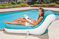 Надувное кресло-шезлонг Intex