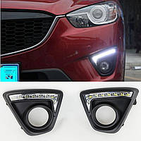 Mazda CX-5 CX5 LED дневные ходовые огни диоды в бампер новые 2013-16