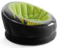 Надувное кресло велюр Intex