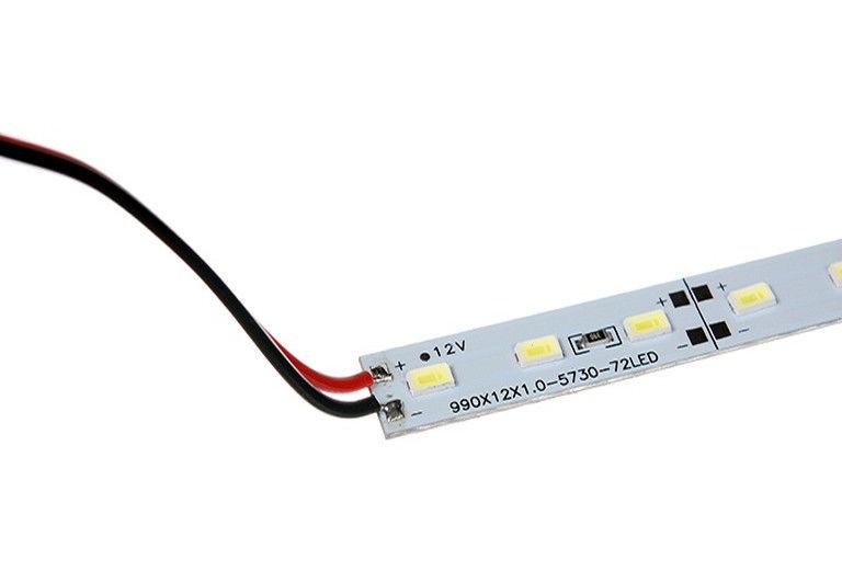 Светодиодная линейка SMD 5630 72 LED 12В одноцветная (красный, зеленый, синий)
