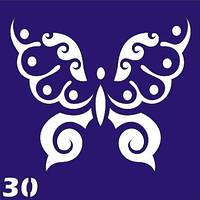 Трафареты для био-тату 6х6 (№ 30)