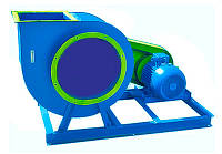 Відцентровий вентилятор ВЦ 4-75 №12,5 з дв. 30 кВт 1000 об./хв