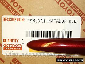 Lexus ES ES350 ES300H 2012-16 молдинги на двери передние задние цвет Matador Red Mica (3R1) новые оригинал